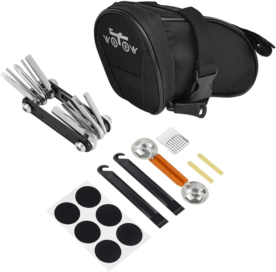 WOTOW Bike Repair Tool Kits Saddle Bag