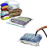 Other Space Saver Bedding Clothes Storage Travel Bag, Clear, 70 x 100 cm, H20.6 x W35 x D2 cm