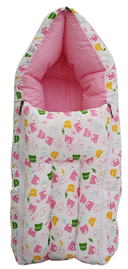 premium selection 0dee8 d4da8 Tender Care Baby Sleeping Bag Cum Baby Carry Bag (Cherry Red)