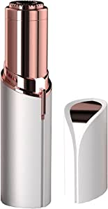 Finishing Touch Flawless Facial Hair Remover For Women - Instant & Painless Hair Removal - Facial Hair Epilator with Built-in LED - Great for Hairs on Face, Lip, Chin & Cheek - Safe for All Skin Types