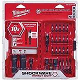 Milwaukee 48-32-4408 Shockwave Drive And Fasten Set (26-Piece)