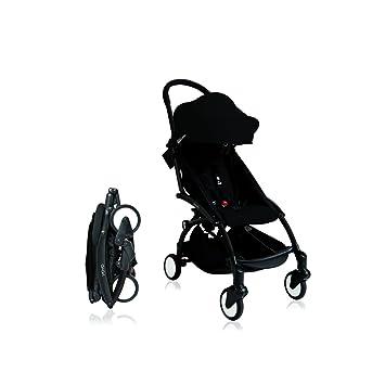Babyzen Silla de paseo YoYo ultra-compacta Chasis Black Color Negro