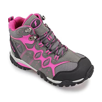 ae95e0ae Goodyear Childrens Goodyear Jet Walking Boot Lightweight in Pink and Yellow  Sizes 28, 29, 30, 31, 32, 33, 34, 35 Pink 34: Amazon.co.uk: Shoes & Bags