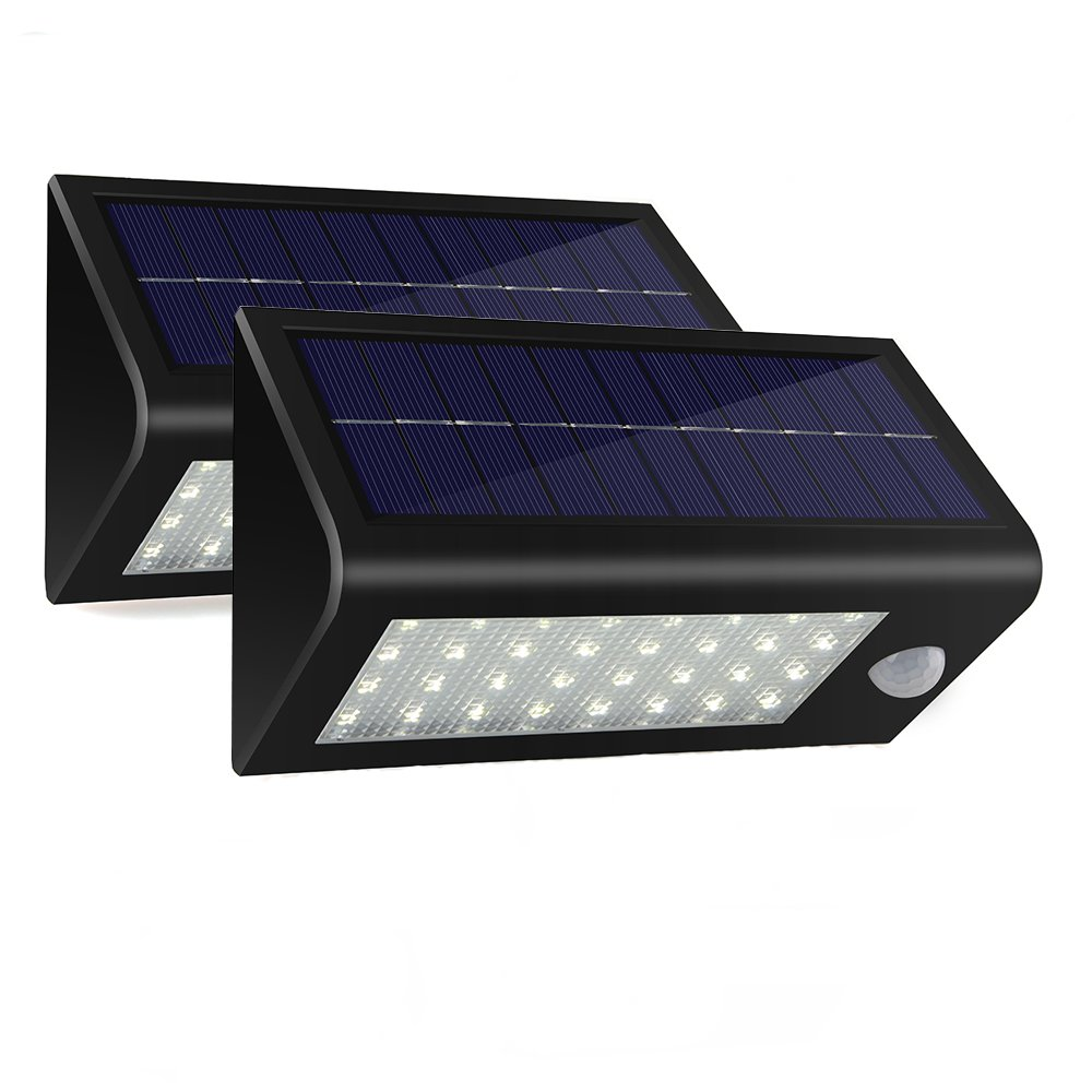 Solar Lights400 Lumens Powered Motion Sensor Light32 Led Rechargeable Waterproof Outdoor Wireless Wall Step Porch Pathway Garden Street 12 Volt Light Wiring Diagram