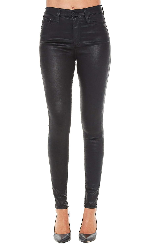 Leatherette Ltsuper Black AG Adriano goldschmied Women's Leatherette Farrah Skinny Ankle