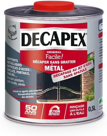 Decapant Sans Gratter Metal Decapex 0 5l Amazon Fr Bricolage
