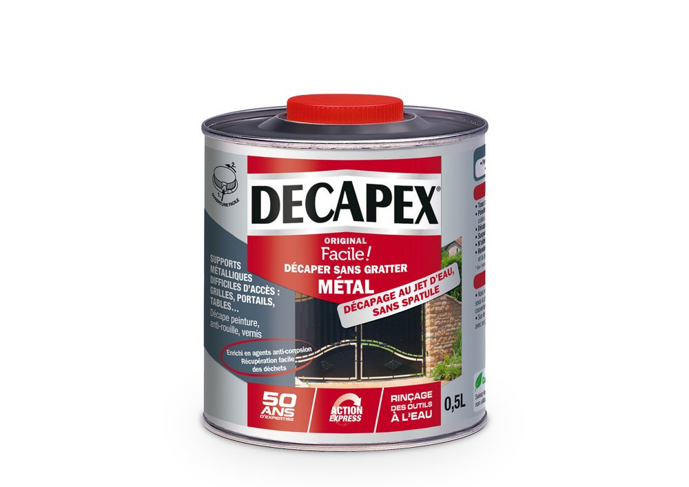 Dé capant sans gratter Mé tal, Decapex - 2L PPG 343574