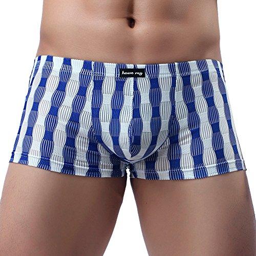 Men's Underwea,Men's Men's Fashion Sexy Underwear Cotton Classics Rise Briefs Blue