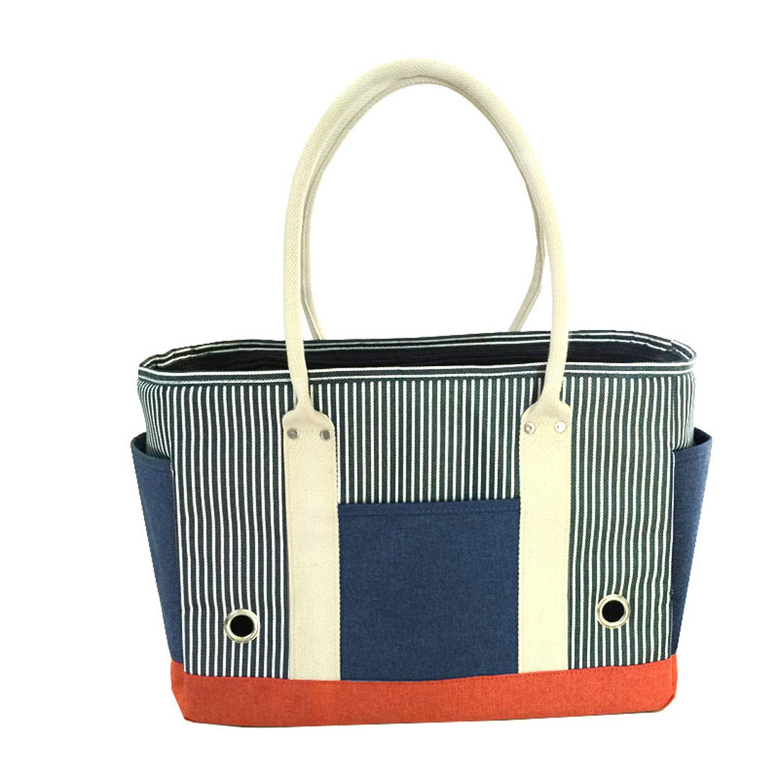 bluee Globalwells Fashion Pet Dog Carriers Cat Travel Portable Carrying Tote Handbag for Outdoor Walking Hiking