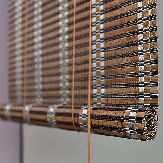 MWyanlan Persianas enrollables de persiana de Invernadero de bambú ...