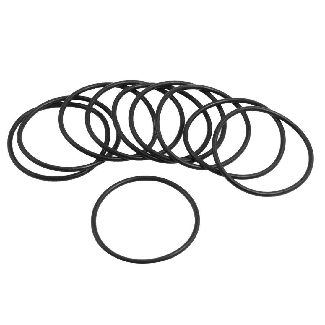 sourcingmap® 10 pz paraolio O Ring nero in gomma nitrile 30mm diametro esterno di 1, 8 mm di spessore sourcing map a13010300ux0113