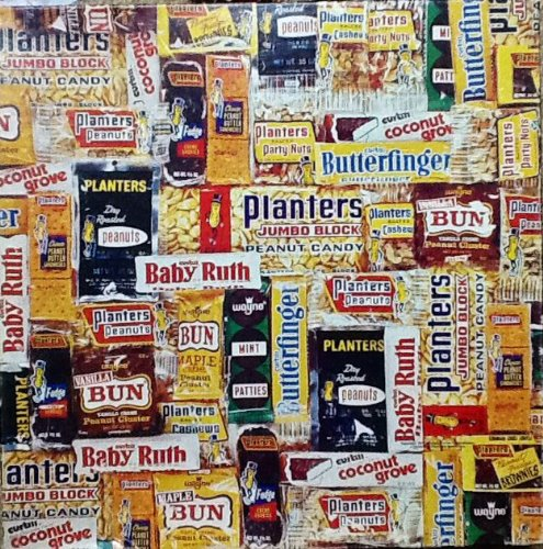 "Vintage Springbok Puzzle ~ ""Between Meals"" ~ 500 Piece ~ Candy Bars Butterfinger Payday from Springbok"