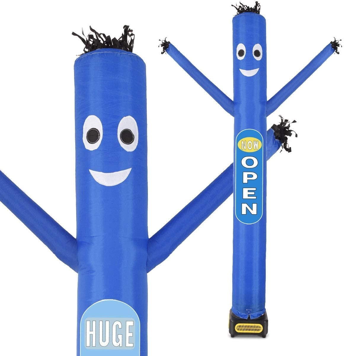Multi-Functional Commercial Promote Event Your Business Outdoor Display Inflatable Air Dancer Puppet Tube 10ft with Blower Blue
