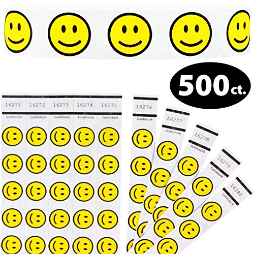 Goldistock Tyvek Wristbands Smiley Yellow product image