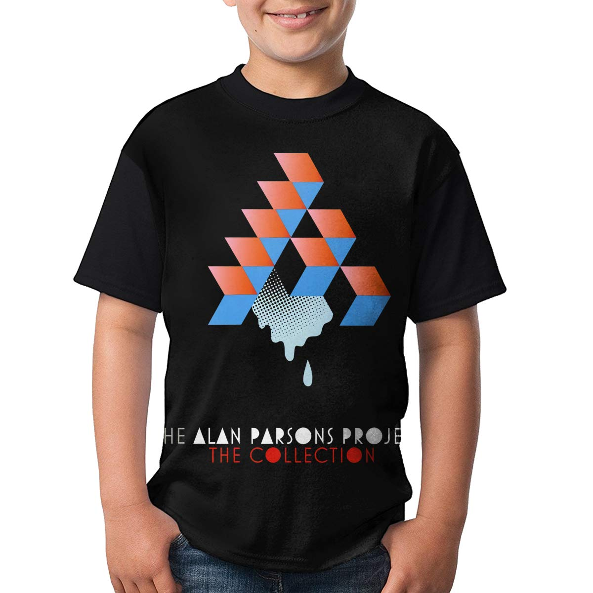 JustinLSullivan The Alan Parsons T Shirt Youth Shirt Boys Teenager Round Neck Short Sleeve Tee