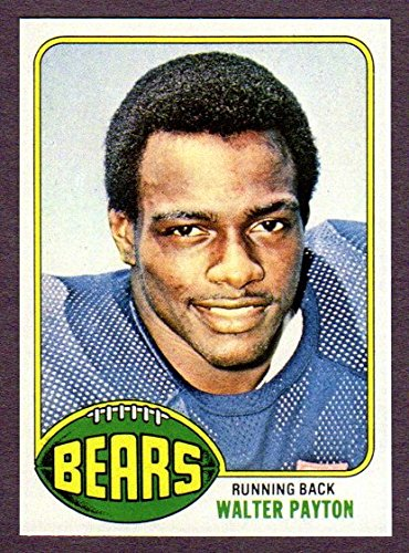 2002 Topps Archive Card (Walter Payton 1976 Topps Reprint Rookie Card (Bears))
