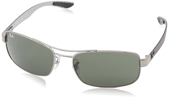 08958bae36200 Image Unavailable. Image not available for. Colour  Ray-Ban Rectangular  Unisex Sunglasses(Rb8316 ...
