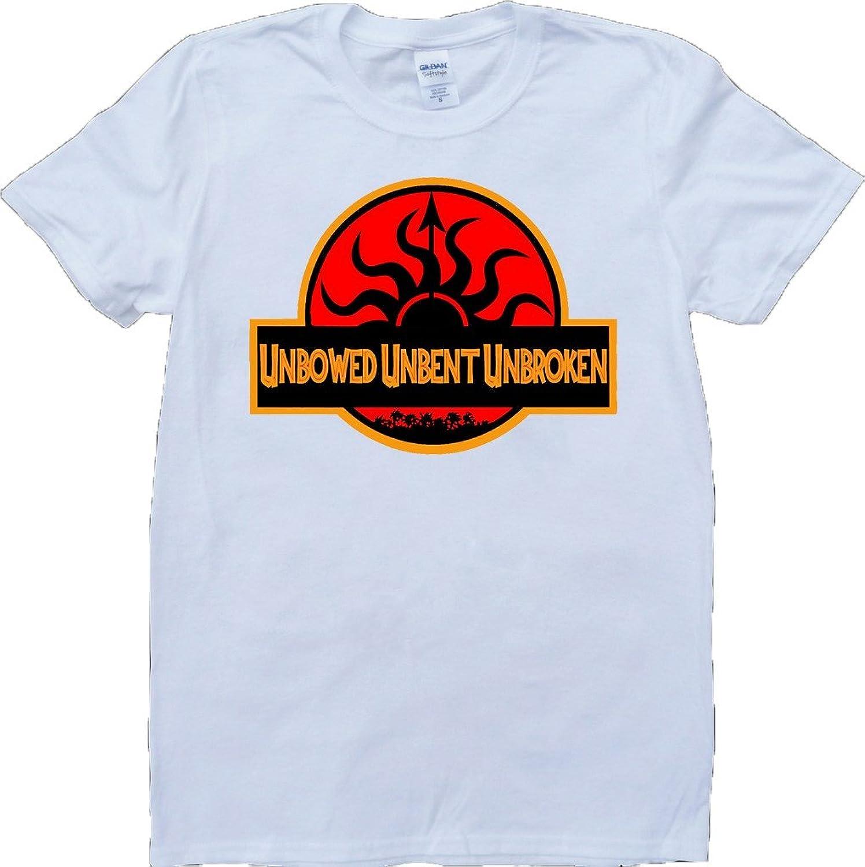 Game Of Thrones House Martell Unbent Unbroken Short Sleeve Custom Made T-Shirt