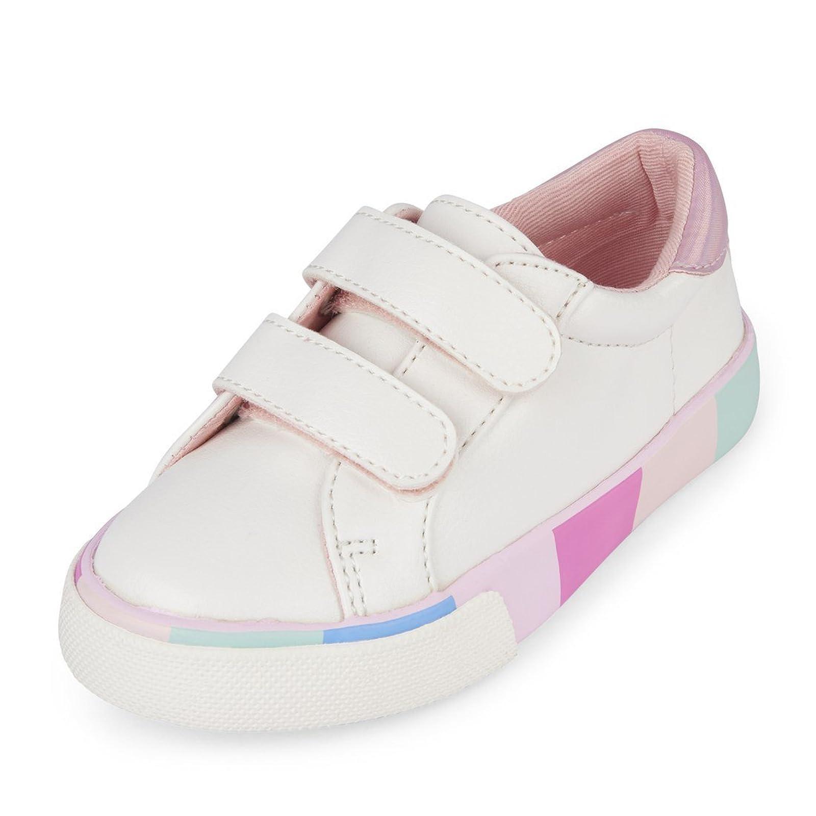 The Children's Place Kids' Tg Multi Sneaker 8 M US - 1