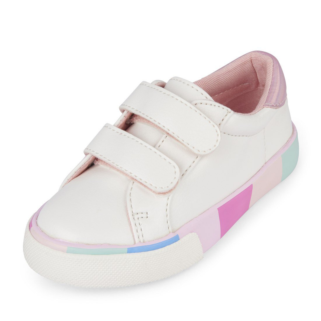 The Children's Place Girls' TG Multi Sneaker, Multi Clr, TDDLR 6 Medium US Big Kid