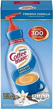 Nestle Coffee Mate French Vanilla Coffee Creamer Liquid Pump Bottle