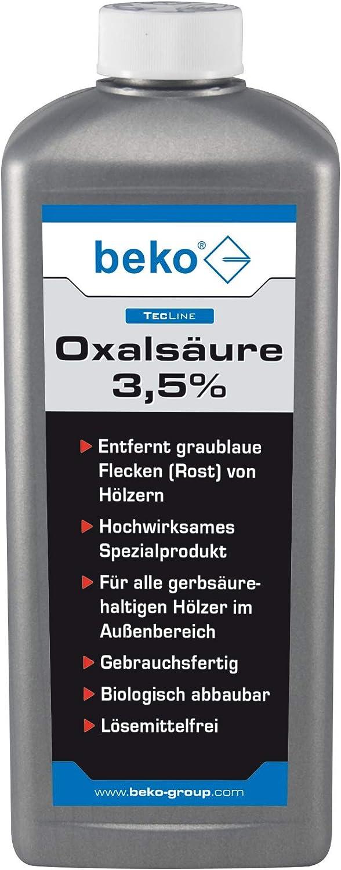 Beko TecLine oxal Acid 3,5% 1000ml Botella, 1pieza, 299261000