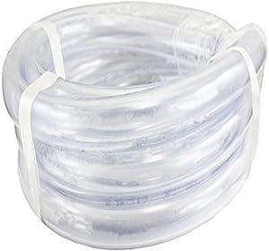 "Duda Energy LPpvc050-100ft 100' x 1/2"" ID Low Pressure Clear Flexible PVC Tubing Heavy Duty UV Chemical Resistant Vinyl Hose Water Oil"
