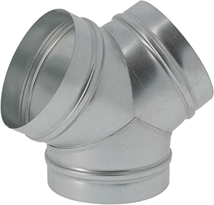 Florateck Vents Y Plumbing Fitting For Ventilation System 125mm Amazon Co Uk Kitchen Home