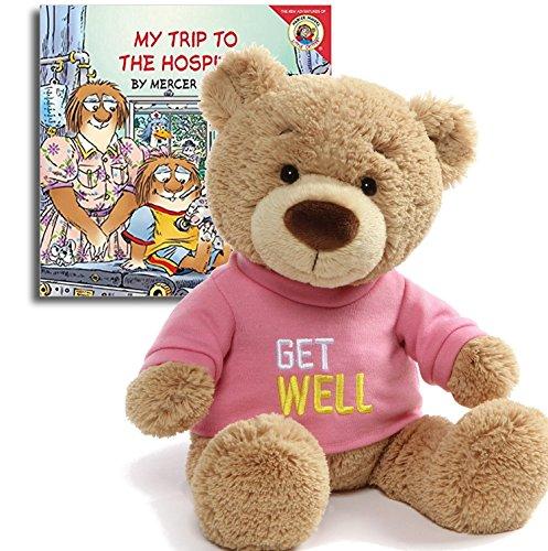 (Get Well Teddy Bear Plush(Pink), 12.5