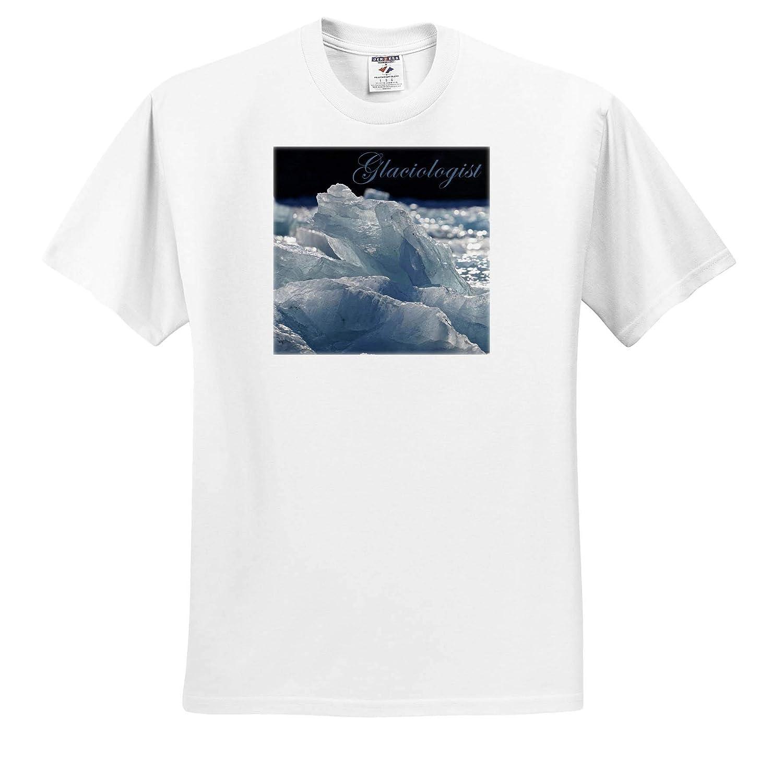 Glaciolosgist and Garibaldi Glacier 3dRose Kike Calvo Polar Exploration T-Shirts