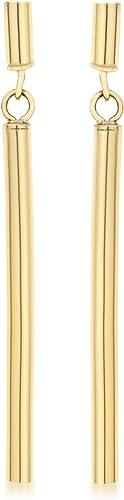 Carissima Gold Boucle d'Oreilles Femme - Or Jaune 375/1000 (9 Cts) 1 Gr