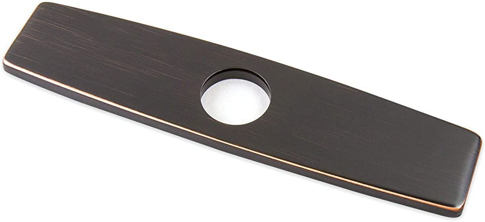 10'' Bathroom Kitchen Sink Faucet Hole Cover Plate Deck Mount Oil Rubbed Bronze