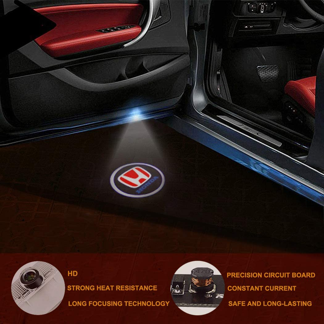 Car Lights for Door LED Car Ground Lights Laser Projector Logo Car Door Lights Welcome Light for Subaru OutBack Legacy Forester XV 2 pack
