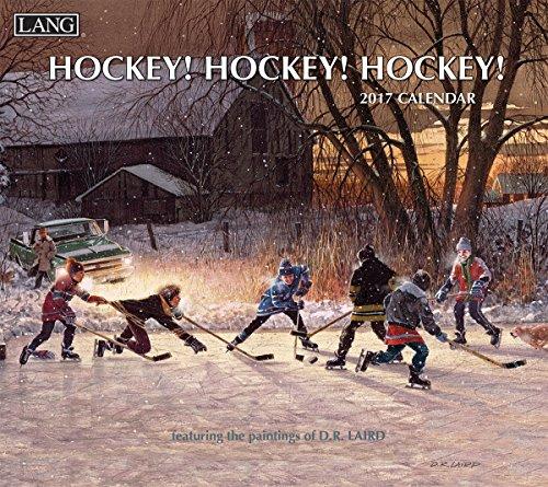 Lang 2017 Hockey Hockey Hockey Wall Calendar, 13.375 x 24 inches ()