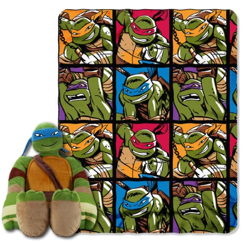 ninja turtle blanket pillow - 2