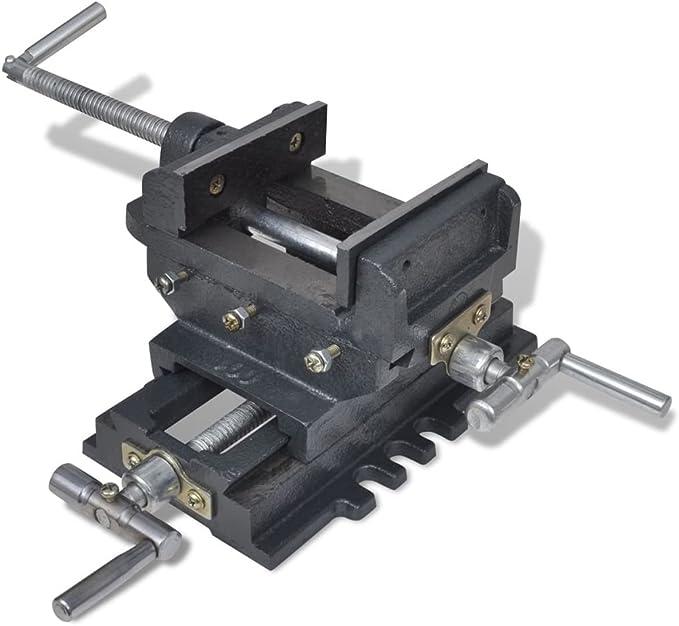 Prensa deslizante taladradora portátil para tornillos,230 x 140 mm,Anchura apertura 100 mm,Apertura 78 mm,Profundidad 37 mm: Amazon.es: Bricolaje y herramientas