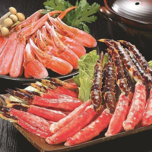カニ鍋 海鮮鍋 しゃぶしゃぶ ギフトセット (かにしゃぶバラエティセット)