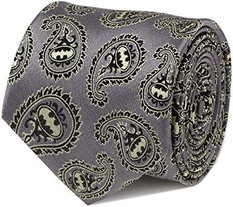 Cufflinks Inc Men's Batman Paisley Tie