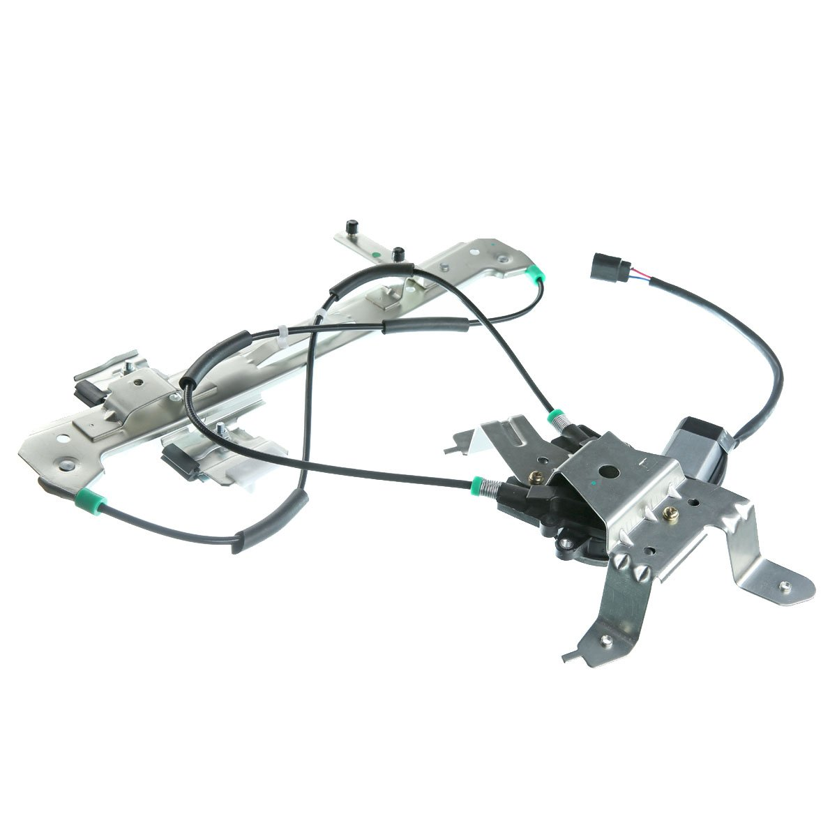 Rear Left Driver Side Window Regulator with Motor for Chevrolet Tahoe GMC Yukon 2000-2006 Cadillac Escalade 2002-2006