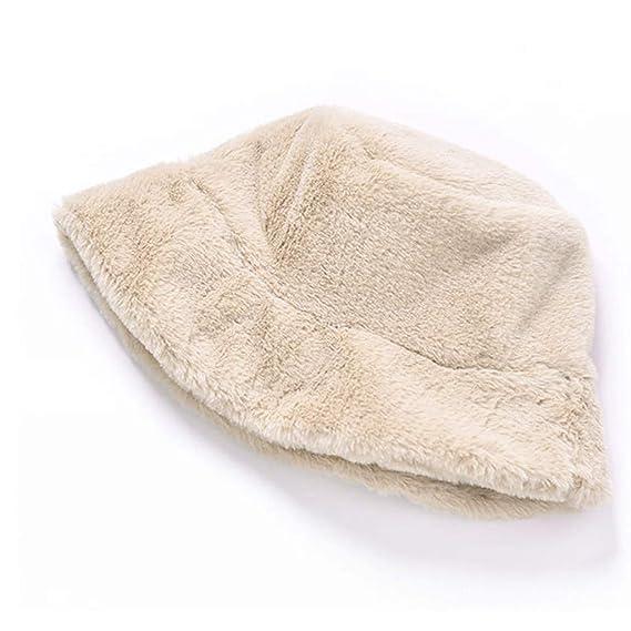 GoldPang,Sombrero de Las señoras,Gorro de Felpa Sombrero ...
