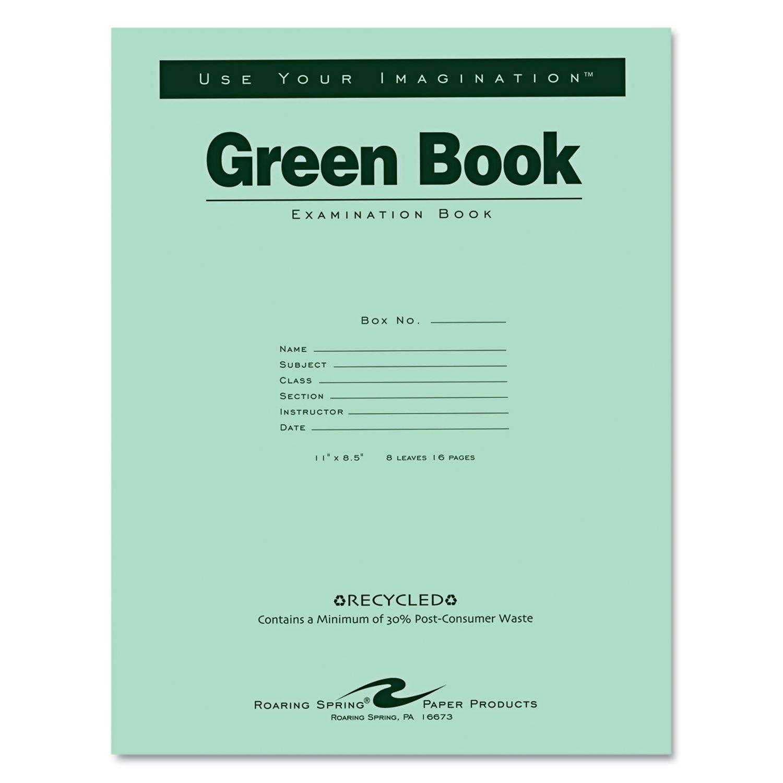 ROA77509 - Roaring Spring Examination Book