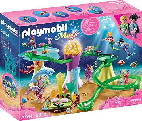 PLAYMOBIL® 70094 Magic Coral Gazebo with Luminous Dome Multi-Coloured