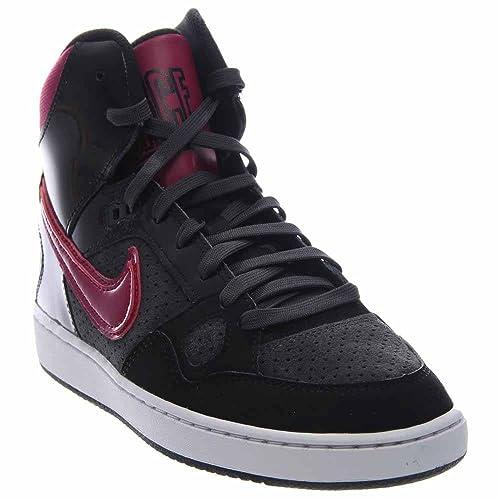 b91b24af2d8f Nike - Son OF Force Mid - Color  Nero-Viola - Size  41.0  Amazon.it  Scarpe  e borse