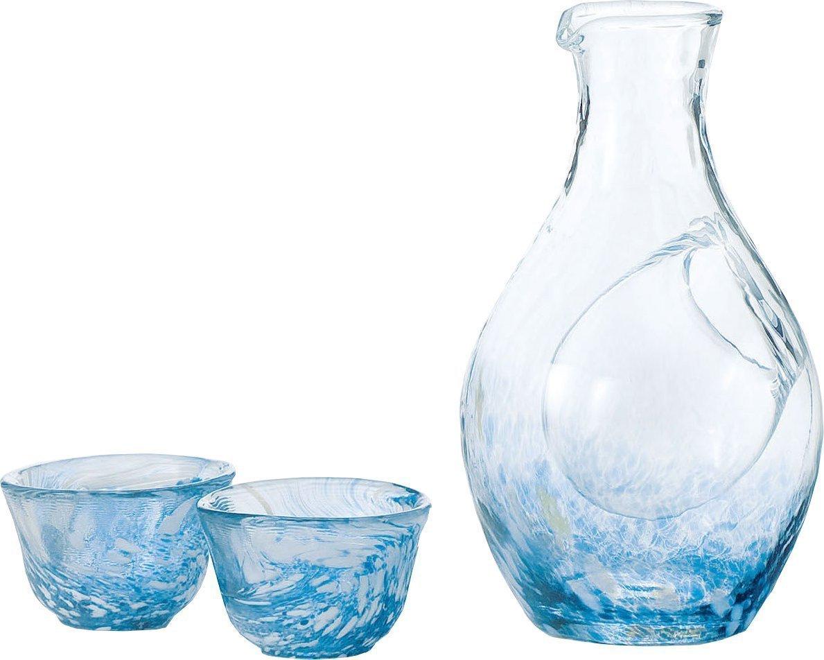Liquor glass collection cold sake set G604-M70 (japan import) by Toyo sasaki glass