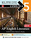 img - for 5 Steps to a 5: English Literature 2019 Elite Student edition (5 Steps To A 5 AP English Literature) book / textbook / text book