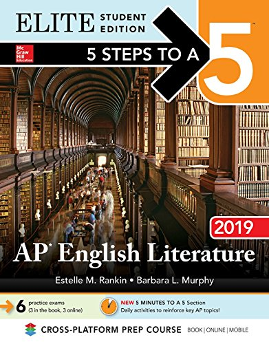 5 Steps to a 5: AP English Literature 2019 Elite Student Edition (Book Student Literature)