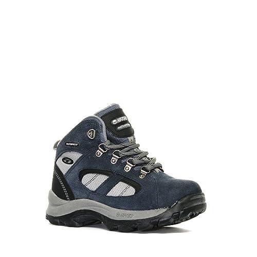 Hi-Tec - Botas Unisex, para niños , color azul, talla 32 EU: Amazon.es: Zapatos y complementos