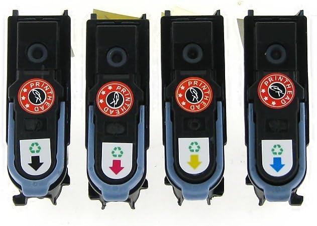 yatunink Set para non-OEM HP11 C4810 a-c4813 a cabezal Cabezal de impresión para HP DesignJet 500 y 500 Plus Serie: Amazon.es: Oficina y papelería