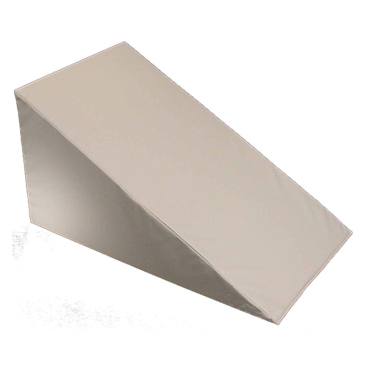 "Bed Wedge Replacement Cover (24"" X 24"" X 7"", White)"