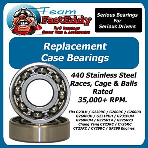 Large Scale Ball Bearing (Crank Ball Bearing for RC Cars Set CY/Zen Stainless Steel)